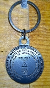 Mt Whitney Key chain (Silver)