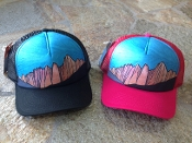 """Mt Whitney"" Mesh Ball Cap"
