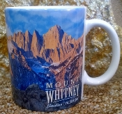 Mount Whitney Mug