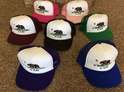 Mt Whitney California (Republic) Mesh Baseball Cap