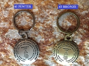 Mt Whitney Benchmark Key Chain