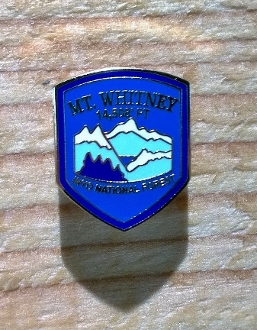 Mt Whitney Token Pin (Color)
