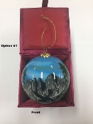 Mt. Whitney Hand Painted Ornament